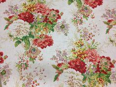 Floral chintz patterns will brighten up your spring decor @ u-fab