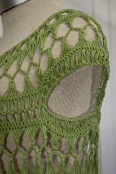 (4) Name: 'Crocheting : Sage Tunic