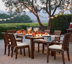 Chatham Rectangular Extending Dining Table & Chair Set | Pottery Barn