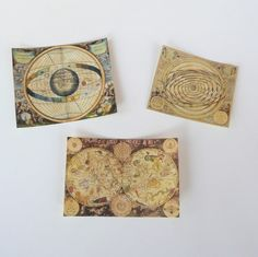 miniature celestial maps