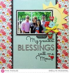 My Greatest Blessings - Papered Cottage