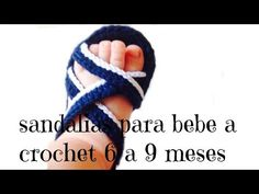 sandalias para bebe a crochet - YouTube Crochet Baby Boots, Crochet Baby Sandals, Newborn Crochet, Crochet Shoes, Crochet Slippers, Doll Shoe Patterns, Baby Shoes Pattern, Crochet For Kids, Sewing For Kids