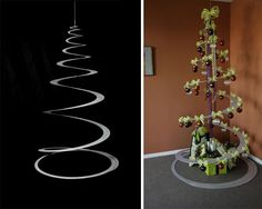 Recycled aluminum limited edition Tannenboing tree