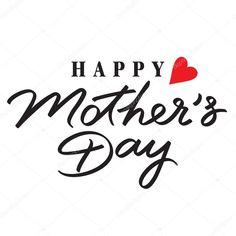 Resultado de imagen de letras feliz dia de la madre