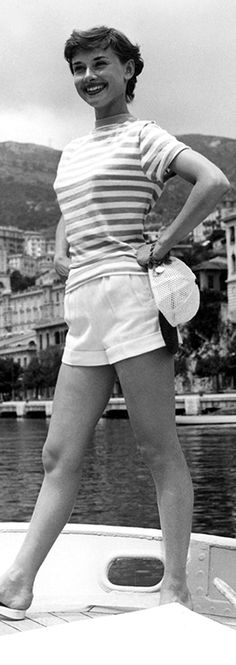 Rare Audrey Hepburn — Audrey Hepburn in shorts requested...