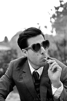 I love Jason Schwartzman. Coconut Records is one of my fave bands! And I heart Huckabees is a fave film!