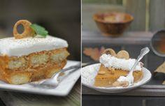 Pumpkin Tiramisu    A different twist on Thanksgiving Dessert