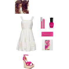 Spring by smith-emily-1 on Polyvore featuring Candela, Luichiny, Monsoon, L'Oréal Paris, Deborah Lippmann, Spring and Spring2015