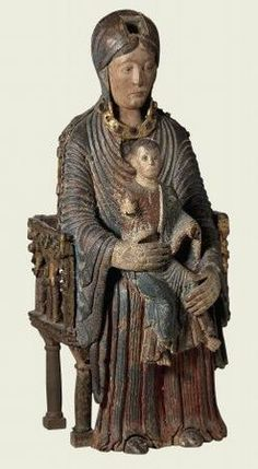 Vierge de majesté - Musée des Beaux Arts de Lyon