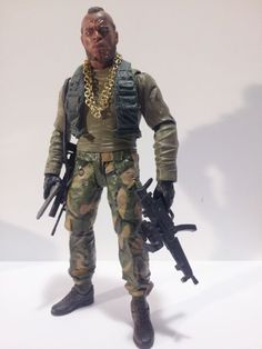 Mr. T (Misc) Custom Action Figure