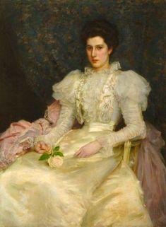 Henry Scott Tuke, Miss Muriel Lubbock, 1898