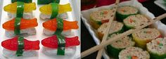 Fruit roll-up treats