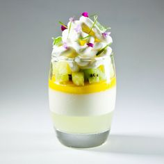 Coconut, Mango, Tropical fruits Verrine by Antonio Bachour