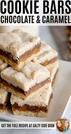 Chocolate Caramel Cookie Bars : Millionaire Magic Cookie Bar Recipe that is decadent, rich, and no fail Sweet & Easy, How Sweet Eats, Chocolate Caramel Cookies, Melted Chocolate, Caramel Cookie Recipe, Chocolate Carmel Bars, Carmel Cookies, Chocolate Bar Recipe, Caramel Bars