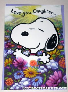 Discover Peanuts collectible General Greeting Cards featuring Snoopy, Woodstock, Charlie Brown, and the whole Peanuts Gang from the comic by Charles M. Snoopy Cartoon, Peanuts Cartoon, Peanuts Snoopy, Charlie Brown Quotes, Charlie Brown And Snoopy, Snoopy Love, Snoopy And Woodstock, Happy Birthday Daughter, Halloween Forum