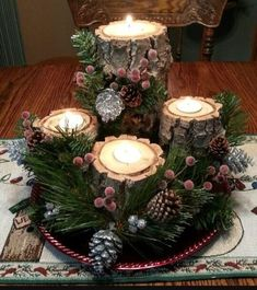 Elegant Christmas Table Centerpieces To Your Holiday Decor - Christmas Elegant Christmas, Rustic Christmas, Beautiful Christmas, Simple Christmas, Christmas Diy, Modern Christmas, Scandinavian Christmas, Xmas, Winter Table Centerpieces