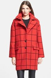 Rebecca Minkoff 'Ford' Plaid Coat