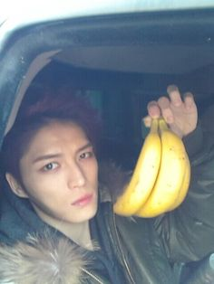 Jaejoong has Junsu's bananas?? :O