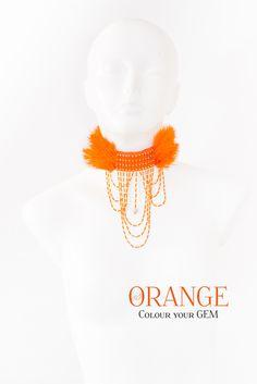 GEM II in orange