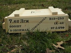 WW2 Russian 600 Round Ammunition Crate | Frontline Crate Co. Red Army, Ww2, Crates, Stenciling, Wood Projects, Period, Woodworking, Construction, Building