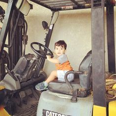 No ... you cannot have the key #forklift