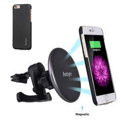 10W Wireless Charger Air Vent Phone Holder BESTHING Wireless Fast Car Mount