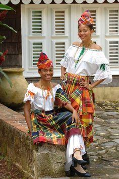 Robes et Bijoux de Martinique