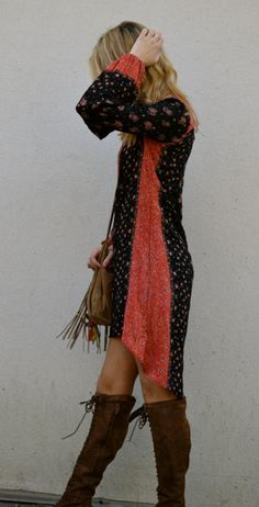 Peacemaker Dress style pic on Free People #contest #fpme