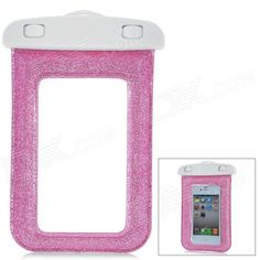 Model: SM-C12 - Material: PVC + ABS - Color: Pink - High quality waterproof bag for cell phone - Waterproof to a depth of 10 meters - Protects your devices from water, sand, dust and snow - Great for swimming, drifting and other outdoor activities - Comes with lanyard http://j.mp/1ljDQ9X