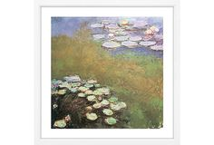Monet, Waterlilies III on OneKingsLane.com