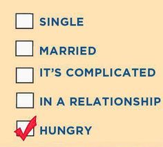 Our true relationship status?