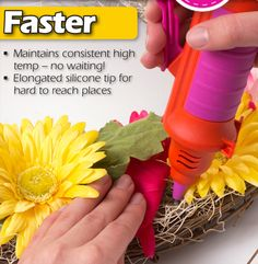 Curious about the new #modmelter? Check out what makes this reinvented glue gun so excellent for DIY crafts! #plaidcrafts