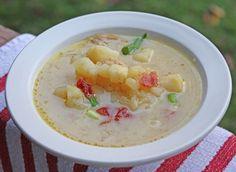 FoodBasics101: Baked Potato Soup - Crockpot Potato Soup