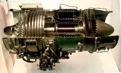 Cutaway Jet Engine.