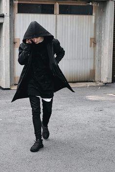 Softshell Black Long Bomber Jacket • Chi Chi Maison