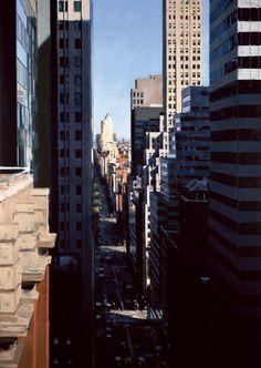 NYC. Twenty One Stories on Madison, oil on panel // Ben Aronson, 2011