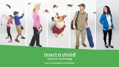 Insect Shield Lifestyle collectio just added to the site and includes protective options for pregnant women and kids!