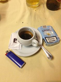 #pizza #coffee and #cigarette