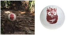 Replica of Wilson Volleyball from Cast Away Movie (Star Tom Hanks)  In the film, Wilson the volleyball serves as Chuck Noland's personified friend and only companion during the four years that Noland spends alone on a deserted island.