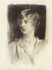John Singer Sargent - Portrait of Evelyn Bligh St. George 1915