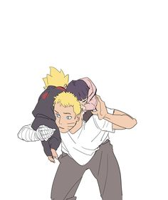 Naruto e Boruto Naruhina, Hinata Hyuga, Naruto Anime, Naruto Cute, Naruto Shippuden Sasuke, Naruto And Sasuke, Anime Ninja, Kakashi, Chica Anime Manga