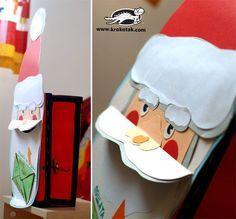 DIY Christmas Postbox - Santa