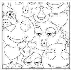 De 51 Bedste Billeder Fra Emoji Coloring Pages Emoji Coloring