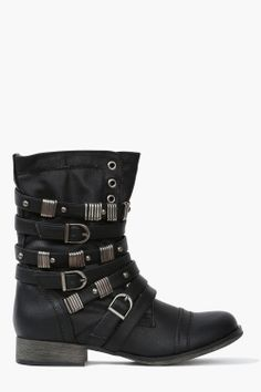 Punk-Inspired Boots