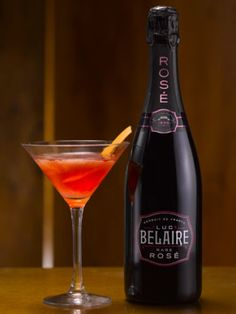 An aromatic, provocative cocktail with the perfect balance of bitter orange and tart raspberry complemented by the sweet red and dark fruits in Belaire Rosé.Ingredients:70mL Belaire Rosé5mL Mandarine Napoleon5mL Chambord10mL Vanilla Flavoured VodkaOrange / Lime OilCandied Orange Peel To GarnishServed In A Martini GlassMethod:Combine all of the ingredients except Belaire Rosé into a cocktailshaker on ice and shake. Pour Belaire Rosé into the well shaken ingredients and stir gently. Strain…