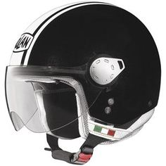 Nolan - N20 City Helmet - Metallic Black/White