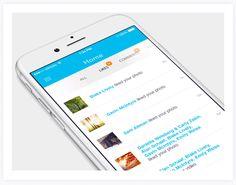 Mobile Interaction Design on Behance  https://www.behance.net/gallery/22981559/Mobile-Interaction-Design