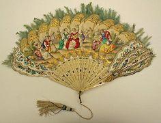 Fan Date: ca. 1840 Culture: European