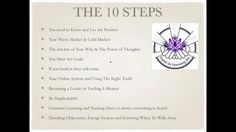 Webinar 10 Simple Steps To Launch Your Young Living Business