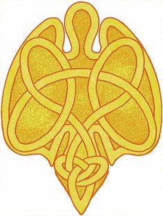 Celtic Angel Design by Colin Bentham